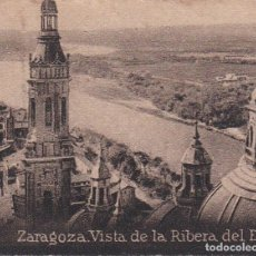 Postales: POSTAL ORIGINAL. DÉCADA 30. ZARAGOZA. VISTA DE LA RIBERA DEL EBRO. Nº1129. Lote 145990254