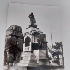 Postales: POSTAL ANTIGUA DE ZARAGOZA. MONUMENTO A AGUSTINA DE ARAGÓN. BLANCO Y NEGRO.. Lote 146323654