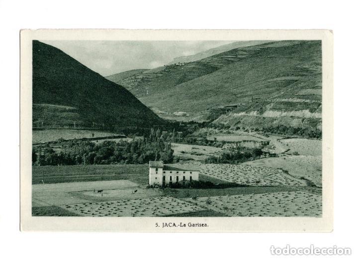JACA.- LA GARISEA (Postales - España - Aragón Antigua (hasta 1939))