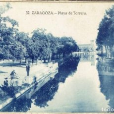 Postales: POSTAL ZARAGOZA PLAYA DE TORRERO - 1929.. Lote 146474418