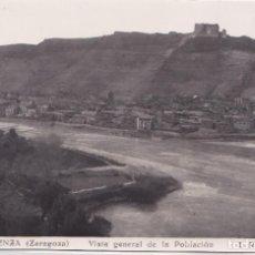 Postales: MEQUINENZA (ZARAGOZA) - VISTA GENERAL DE LA POBLACION. Lote 146590386