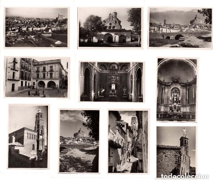 ALBALATE DEL ARZOBISPO.(TERUEL).- COLECCIÓN DE 10 POSTALES EDICIONES GARCIA GARRABELLA (Postales - España - Aragón Antigua (hasta 1939))