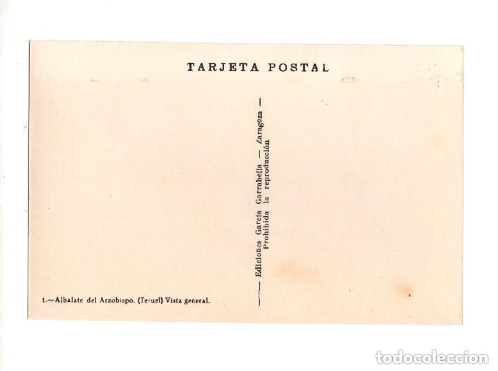 Postales: ALBALATE DEL ARZOBISPO.(TERUEL).- COLECCIÓN DE 10 POSTALES EDICIONES GARCIA GARRABELLA - Foto 3 - 146620654