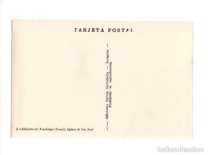 Postales: ALBALATE DEL ARZOBISPO.(TERUEL).- COLECCIÓN DE 10 POSTALES EDICIONES GARCIA GARRABELLA - Foto 5 - 146620654