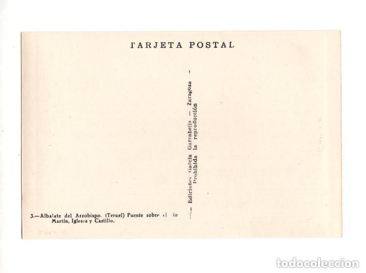 Postales: ALBALATE DEL ARZOBISPO.(TERUEL).- COLECCIÓN DE 10 POSTALES EDICIONES GARCIA GARRABELLA - Foto 7 - 146620654