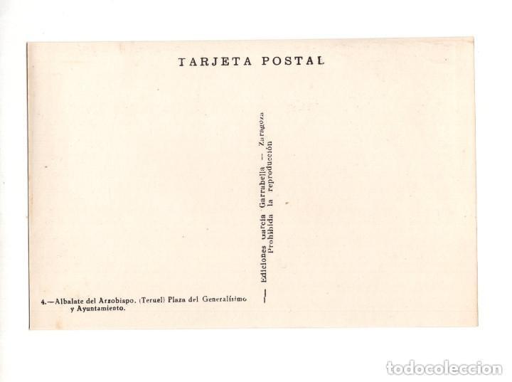 Postales: ALBALATE DEL ARZOBISPO.(TERUEL).- COLECCIÓN DE 10 POSTALES EDICIONES GARCIA GARRABELLA - Foto 9 - 146620654