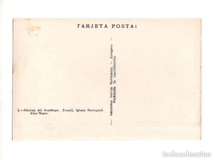 Postales: ALBALATE DEL ARZOBISPO.(TERUEL).- COLECCIÓN DE 10 POSTALES EDICIONES GARCIA GARRABELLA - Foto 11 - 146620654