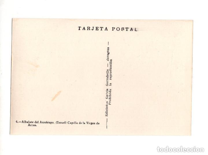 Postales: ALBALATE DEL ARZOBISPO.(TERUEL).- COLECCIÓN DE 10 POSTALES EDICIONES GARCIA GARRABELLA - Foto 13 - 146620654