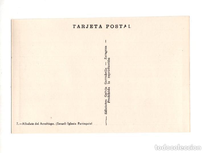 Postales: ALBALATE DEL ARZOBISPO.(TERUEL).- COLECCIÓN DE 10 POSTALES EDICIONES GARCIA GARRABELLA - Foto 15 - 146620654