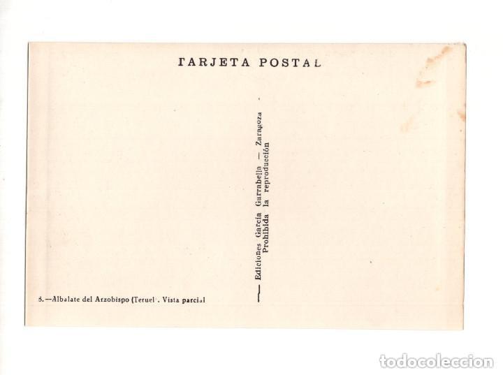 Postales: ALBALATE DEL ARZOBISPO.(TERUEL).- COLECCIÓN DE 10 POSTALES EDICIONES GARCIA GARRABELLA - Foto 17 - 146620654