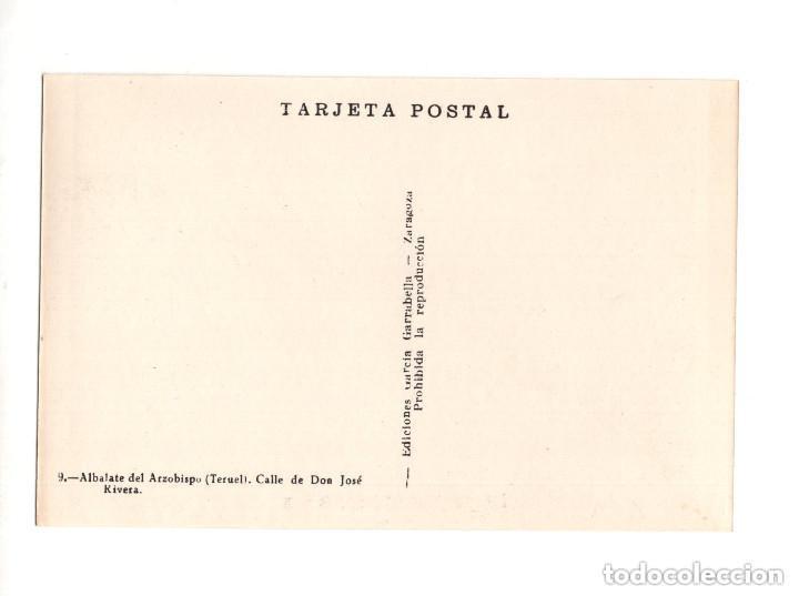 Postales: ALBALATE DEL ARZOBISPO.(TERUEL).- COLECCIÓN DE 10 POSTALES EDICIONES GARCIA GARRABELLA - Foto 19 - 146620654