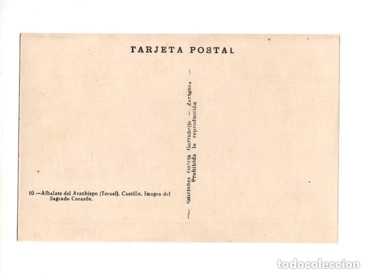 Postales: ALBALATE DEL ARZOBISPO.(TERUEL).- COLECCIÓN DE 10 POSTALES EDICIONES GARCIA GARRABELLA - Foto 21 - 146620654