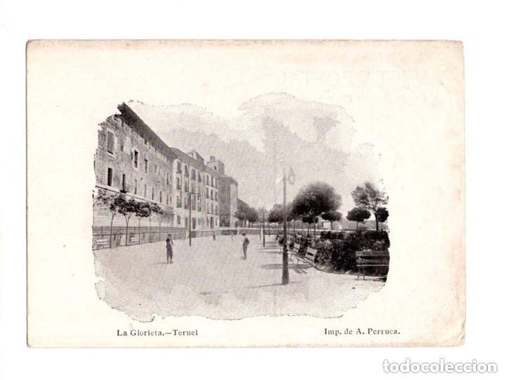 TERUEL.- LA GLORIETA (Postales - España - Aragón Antigua (hasta 1939))