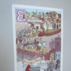 Cartes Postales: POSTAL TERUEL LA TARJETA DEL CORREO. Lote 146625322