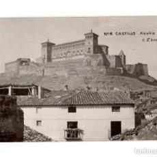 Postales: ALCAÑIZ.(TERUEL).- Nº14 CASTILLO. FOTO C. ESCUIN. POSTAL FOTOGRÁFICA. Lote 146628026
