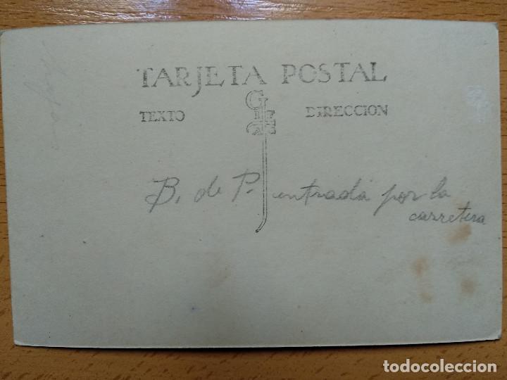 Postales: POSTAL FOTOGRAFICA. BALNEARIO DE PANTICOSA, HUESCA. ENTRADA POR LA CARRETERA.. - Foto 2 - 147034294