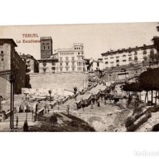 Postales: TERUEL.- ESCALINATA. FOTOGRÁFICA 1921. Lote 147431614