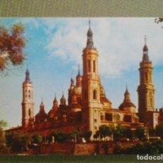 Postales: POSTAL ZARAGOZA BASILICA DEL PILAR. Lote 147561898