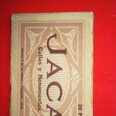 Postales: BLOCK 20 POSTALES ' JACA - CALLES Y MONUMENTOS '// ( EXTR2019 ). Lote 147901050