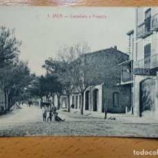 Postales: HUESCA JACA Nº1 CARRETERA A FRANCIA. ED. F.H.. Lote 147935622