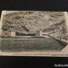Postales: BALNEARIO DE PANTICOSA HUESCA GRAN HOTEL FOTOTIPIA DE L. ESCOLA Nº 2 SIN DIVIDIR . Lote 147936446