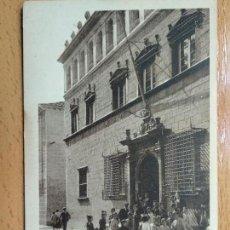 Postales: JACA (HUESCA) EL AYUNTAMIENTO, EDIC. F. DE LAS HERAS 17. Lote 147936002