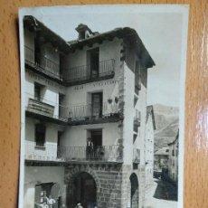 Postales: POSTAL FOTOGRÁFICA DE BROTO. HUESCA. FONDA DE PRADAS.. Lote 147938946