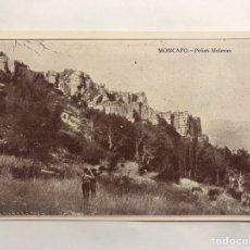 Postales: MONCAYO (ZARAGOZA) POSTAL ANIMADA. PEÑAS MELERAS. EDITA: TARJETA POSTAL (H.1930?). Lote 148099069