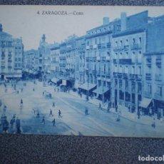 Postales: ZARAGOZA COSO POSTAL ANTIGUA. Lote 148124434