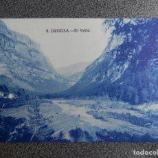 Postales: ARAGON HUESCA ORDESA EL VALLE POSTAL ANTIGUA. Lote 148125440
