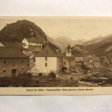 Postales: VALLE DE TENA (HUESCA) POSTAL. TRAMACASTILLA. VISTA PARCIAL Y SANTA MARINA EDITA: ARRIBAS (H.1950?). Lote 148191734