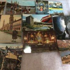 Postales: 10 POSTALES ZARAGOZA AÑOS 60 . Lote 148195462