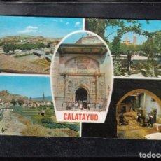 Postales: Nº 10 - SALLENT DE GÁLLEGO. RESTAURANTE TABARRAY Y PISTAS, AL FONDO MACIZO DEL INFIERNO. Lote 148215166