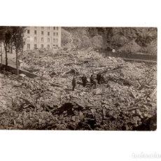 Postales: BALNEARIO DE PANTICOSA.(HUESCA).- RUINAS DE LA PRADERA (CATÁSTROFE DE 1915). FOTOGRÁFICA. Lote 148378946