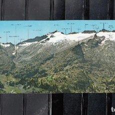 Postales: N. 11 BENASQUE. PANORÁMICA DEL MACIZO MALDITO. Lote 148564798