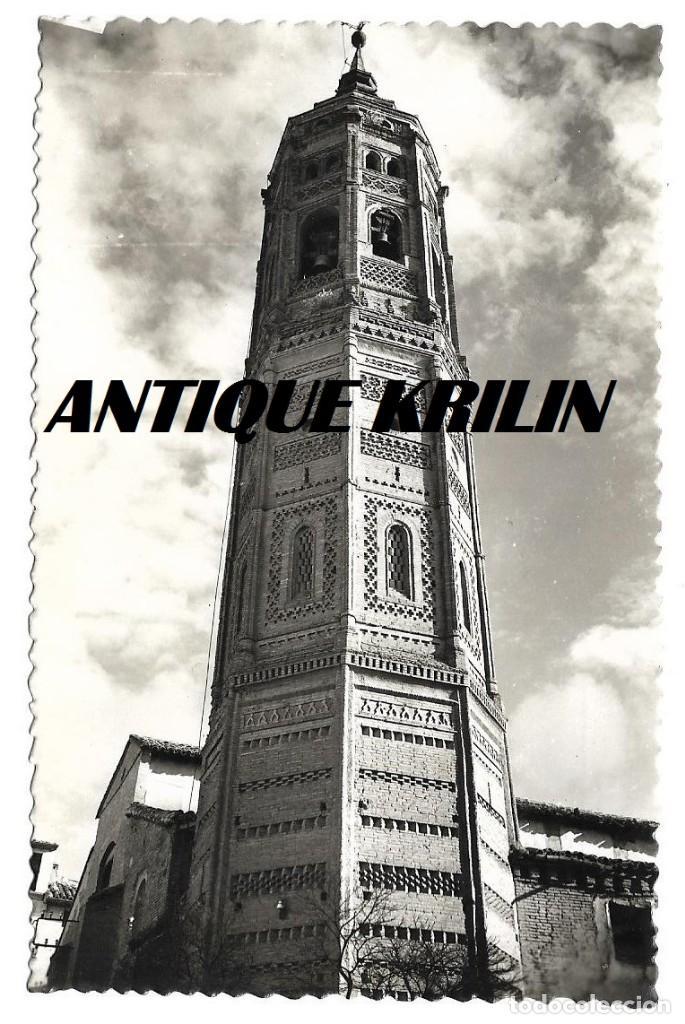 CALATAYUD Nº 13 TORRE DE SAN ANDRES .- EDICIONES SICILIA (Postales - España - Aragón Moderna (desde 1.940))