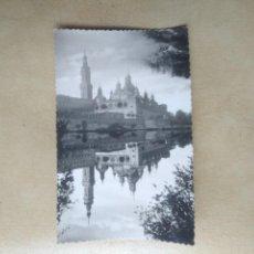 Postales: POSTAL ZARAGOZA, TEMPLO DEL PILAR. Lote 148924770