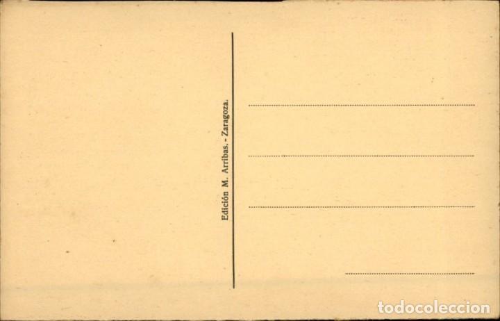 Postales: Zaragoza – 42 – Orillas del Ebro - Ed. Arribas – SC - Foto 2 - 149481222