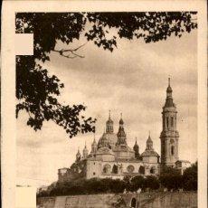 Postales: ZARAGOZA – ORILLAS DEL EBRO – ED. ARRIBAS - SC. Lote 149484158