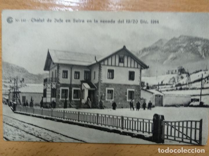 CATALANA DE GAS. 140 - CHALET DEL JEFE EN SEIRA - FOTOTIPIA BRUNNER Y CIA (Postales - España - Aragón Antigua (hasta 1939))