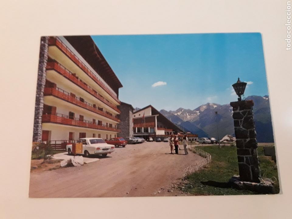 POSTAL SALLENT DE GALLEGO HOTEL FORMIGAL (Postales - España - Aragón Moderna (desde 1.940))
