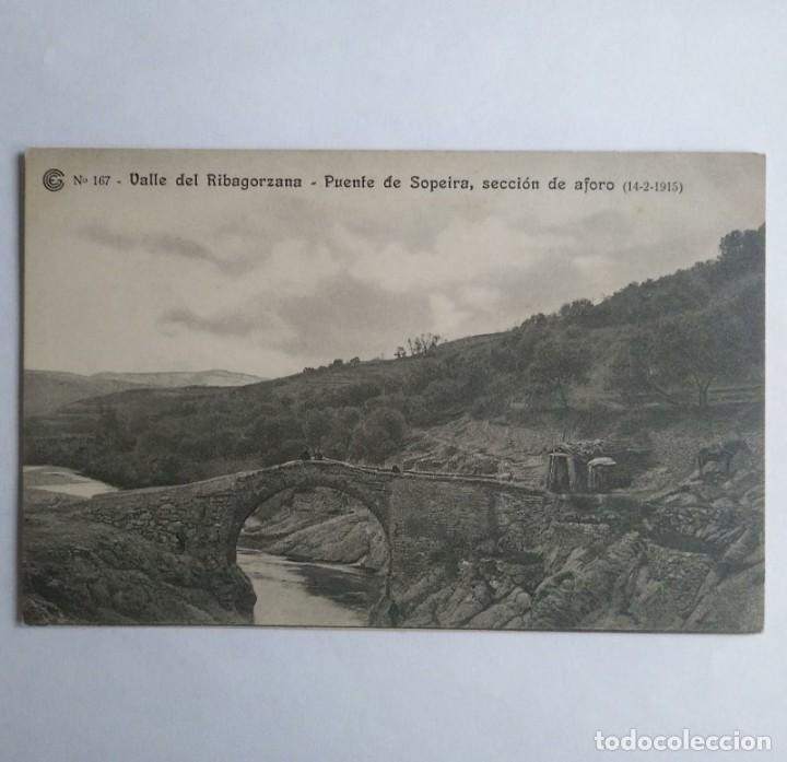 1915 Valle de Ribagorzana. Puente de Sopeira, sección del aforo. Catalana de gas y electricidad - 139080542