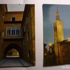 Postales: LOTE POSTALES ZARAGOZA CM. Lote 151576714