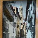 Postales: ALBALATE DEL ARZOBISPO - TERUEL - CUESTA DE LAS LOSAS - ED·ARRIBAS 1004. Lote 151707274