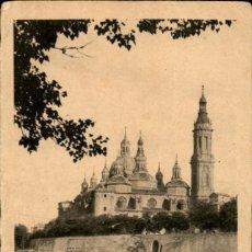 Postales: ZARAGOZA – ORILLAS DEL EBRO - 9X14 – EDICIONES ARRIBAS . Lote 151879746