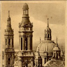 Postales: ZARAGOZA – 25 TORRES DEL TEMPLO DEL PILAR - 9X14 – ED. ARRIBAS. Lote 151882954