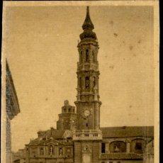 Postales: ZARAGOZA – 27 CATEDRAL DE LA SEO - 9X14 – ED. ARRIBAS. Lote 151883058