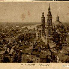 Postales: ZARAGOZA – 28 VISTA PARCIAL - 9X14 – ED. ARRIBAS. Lote 151883118