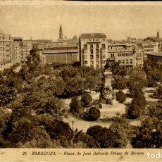 Postales: ZARAGOZA – 29 PLAZA DE JOSE ANTONIO PRIMO DE RIVERA - 9X14 – ED. ARRIBAS. Lote 151883238
