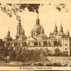 Postales: ZARAGOZA – 24 TEMPLO DEL PILAR - 9X14. Lote 151883282